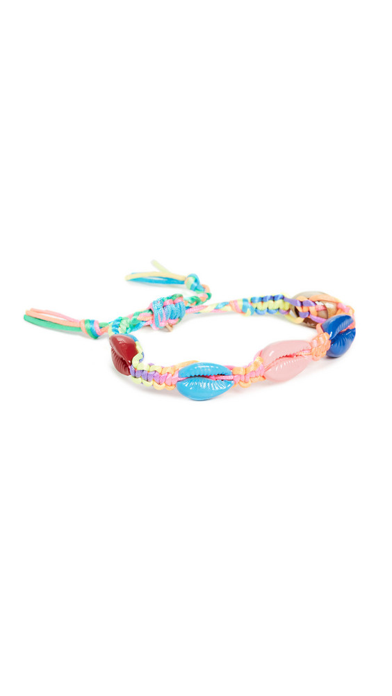 Venessa Arizaga Rainbow Shell Bracelet in multi