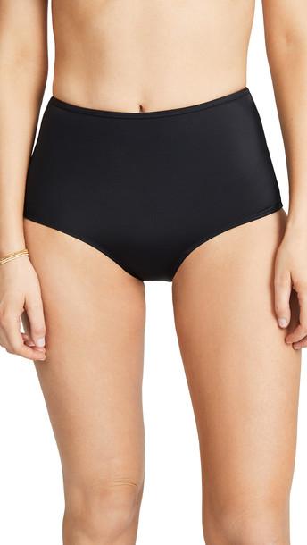Solid & Striped The Brigitte Bikini Bottoms in black
