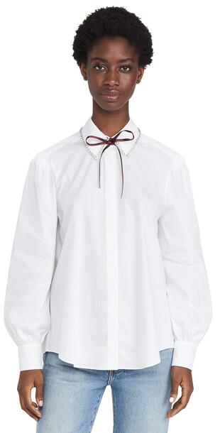 Cinq a Sept Eli Top in white / multi