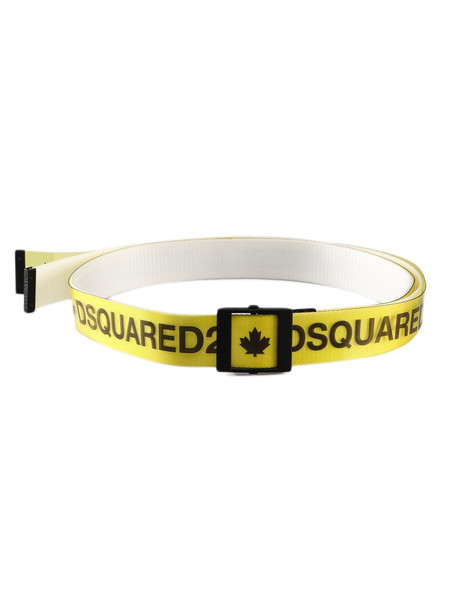 Dsquared2 Belt in black / yellow