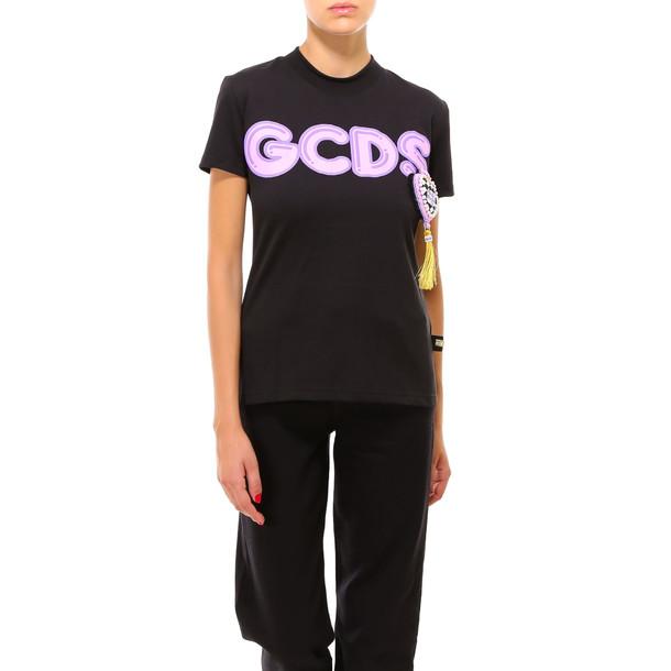 GCDS T-shirt in black