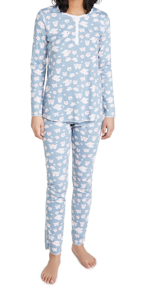 Roller Rabbit Arnold And Maude Pajamas in grey