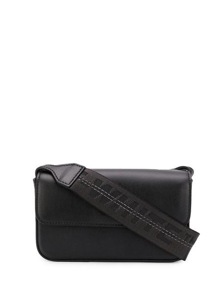 Off-White small binder cross-body bag in black