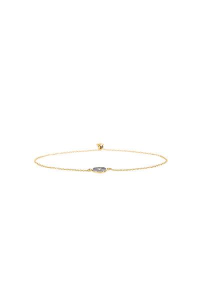 gorjana Star Coin Bracelet in gold / metallic