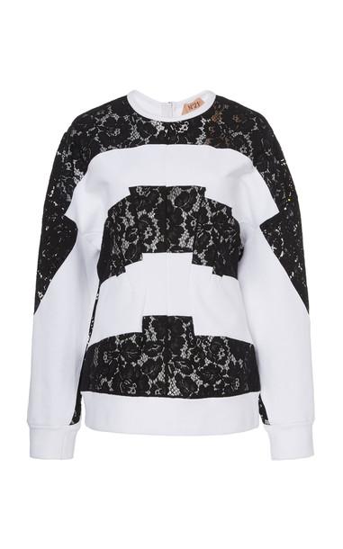 N°21 Ginette Sweatshirt in multi