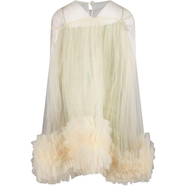 Nikolia White melody Girl Dress