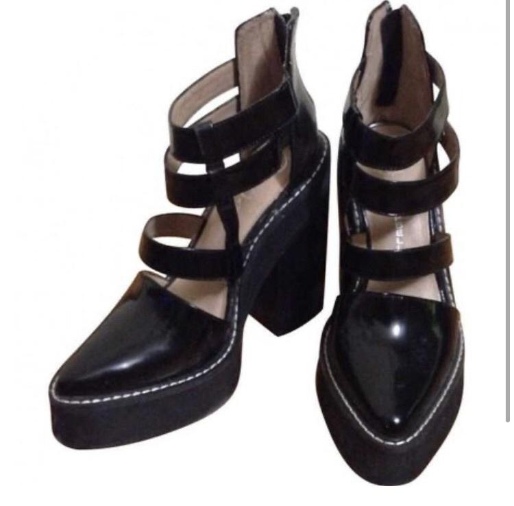 shoes black heels black grunge alternative heels edgy