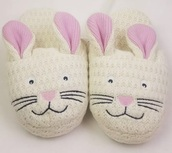 shoes,bunnny,slippers,pink,white,bunny,bunny ears