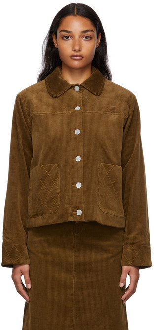 A.P.C. A.P.C. Brown Jackie Jacket