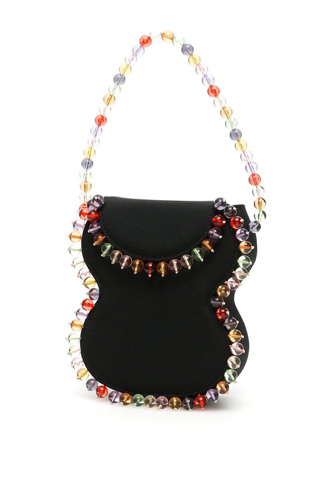 BY FAR Frida Mini Bag in black