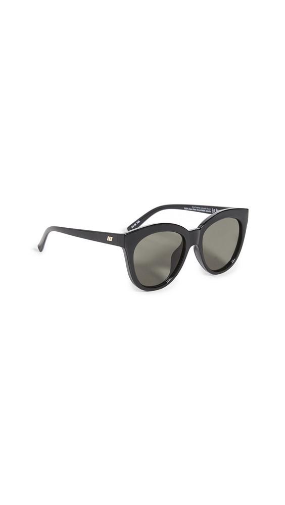 Le Specs Resumption Sunglasses in black