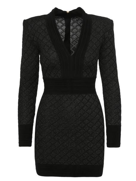 Balmain Paris Dress in black