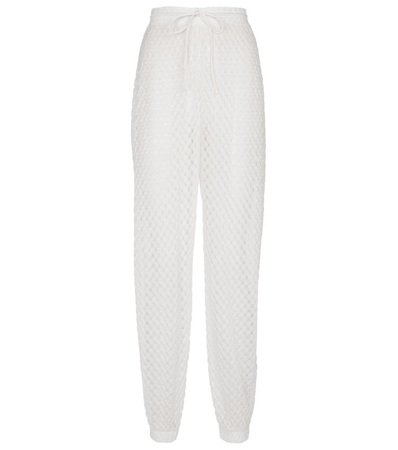 Missoni Mare High-rise zig-zag knitted pants