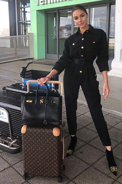 jumpsuit black pants blogger olivia culpo instagram