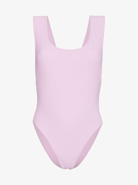 Araks Pink Jireh cutout swimsuit