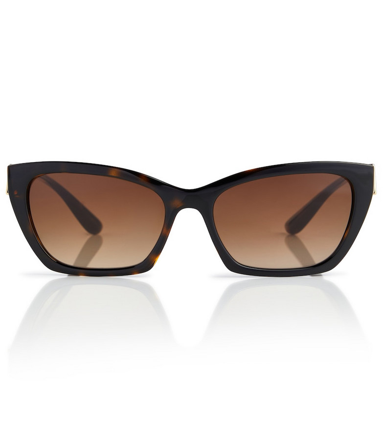 Dolce & Gabbana Cat-eye sunglasses in brown