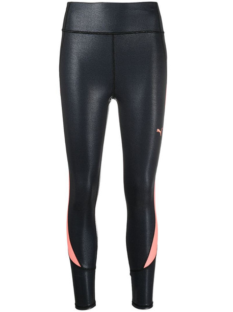 Puma pearl-print leggings in black
