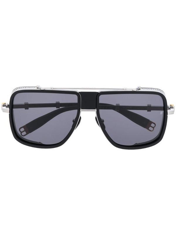 Balmain x Akoni O.R oversized sunglasses in black