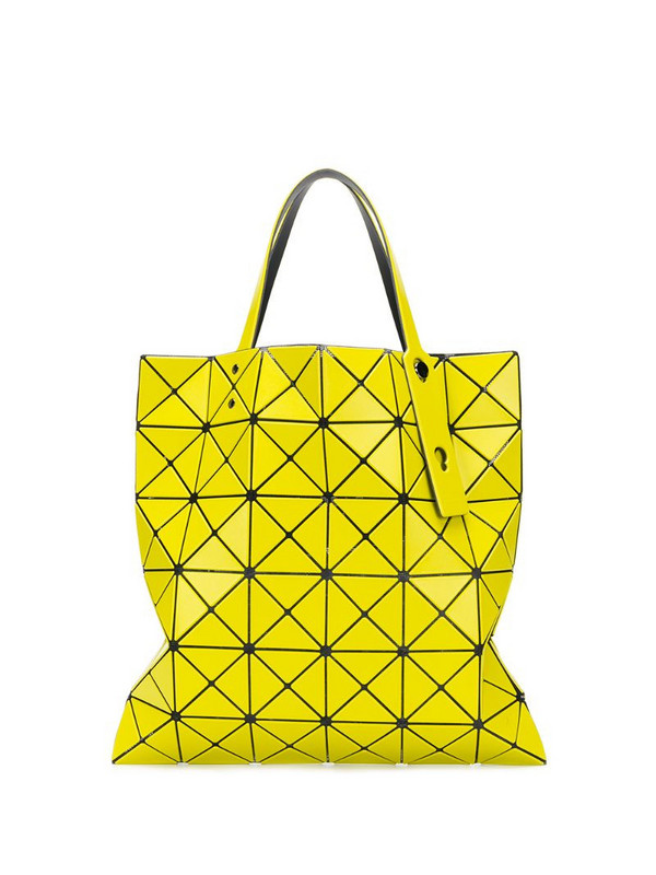 Bao Bao Issey Miyake Prism shopper tote in yellow