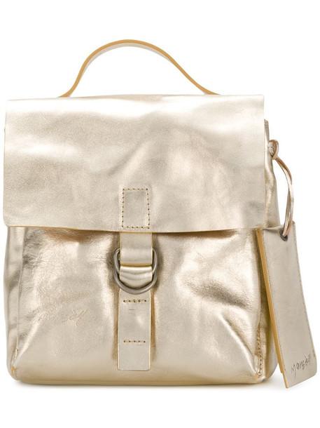 Marsèll top handle backpack in metallic