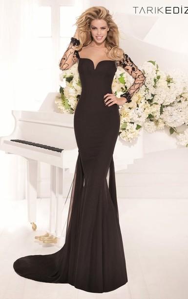 dress flowersprom gown beaded evening dress
