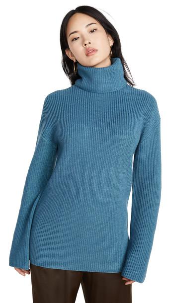Diane von Furstenberg Emmanuelle Sweater in blue