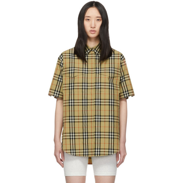 Burberry Beige Curlew Shirt