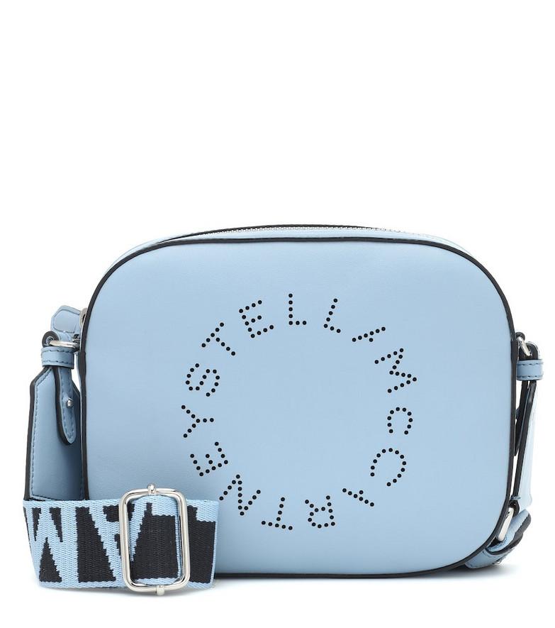 Stella McCartney Logo shoulder bag in blue