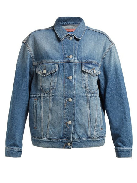 Acne Studios - Trash 2000 Denim Jacket - Womens - Denim