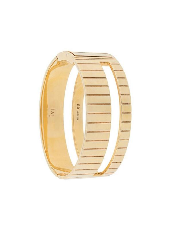 IVI Slot bangle in gold