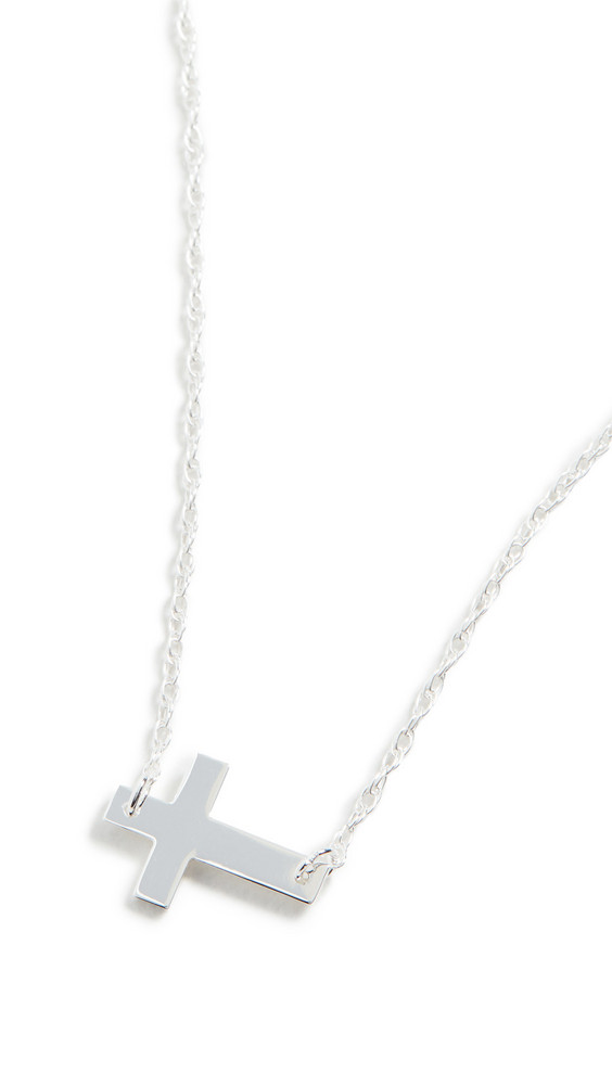 Jennifer Zeuner Jewelry Theresa Necklace in silver