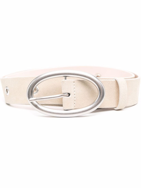 IRO suede-leather belt - Pink