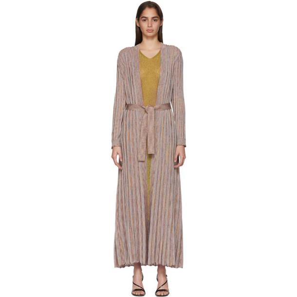Missoni Multicolor Striped Lurex Dress in multi