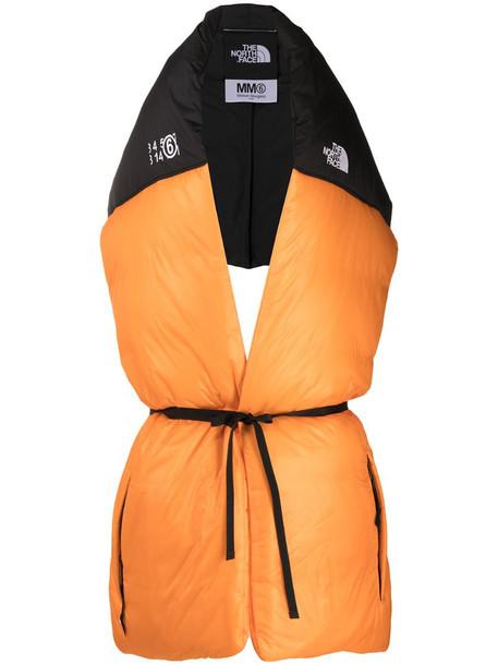 MM6 Maison Margiela x TNF Nupse oversize scarf in orange