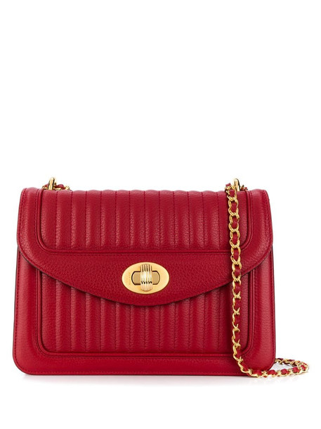 DELAGE Ginette PM crossbody bag in red