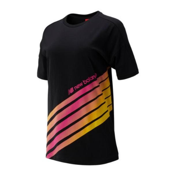 New Balance 93507 Women's Sport Style Optiks Top - Black (WT93507BK)