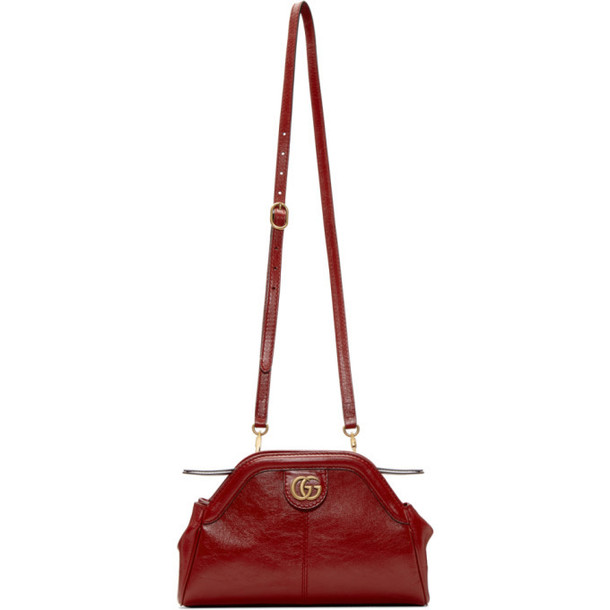 Gucci Red Linea Shoulder Bag