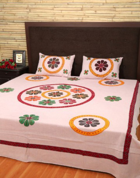 home accessory bedsheet cotton bedsheet bedding pink bedsheet