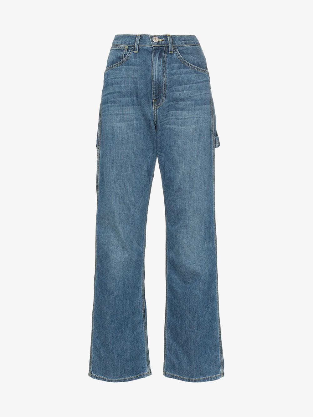 Eve Denim Carolyn high-waisted loose fit jeans in blue