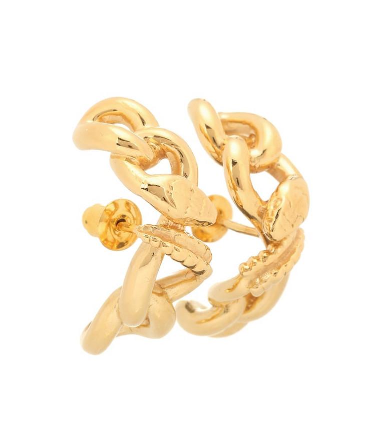 Alan Crocetti Nashash gold-vermeil earrings