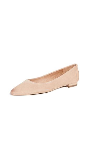 Frye Sienna Ballet Flats in blush