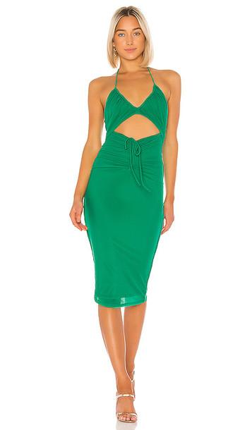 NBD Juniper Midi Dress in Green