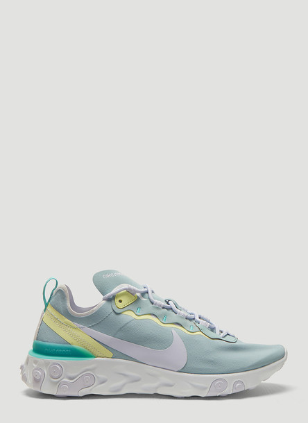 Nike React Element 55 Sneakers in Blue size US - 09