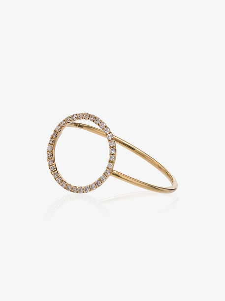 Rosa De La Cruz Yellow gold Eternity 18k gold and diamond ring