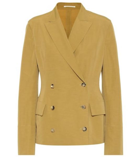 Golden Goose Angelica linen-blend blazer in beige