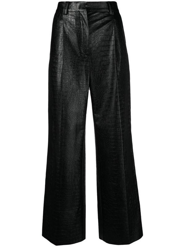 Soulland Margaret trousers in black