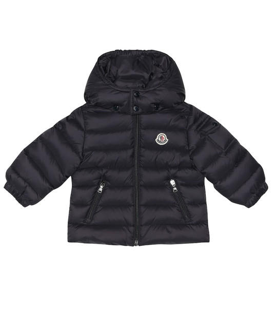 Moncler Enfant Baby Jules quilted down coat in blue