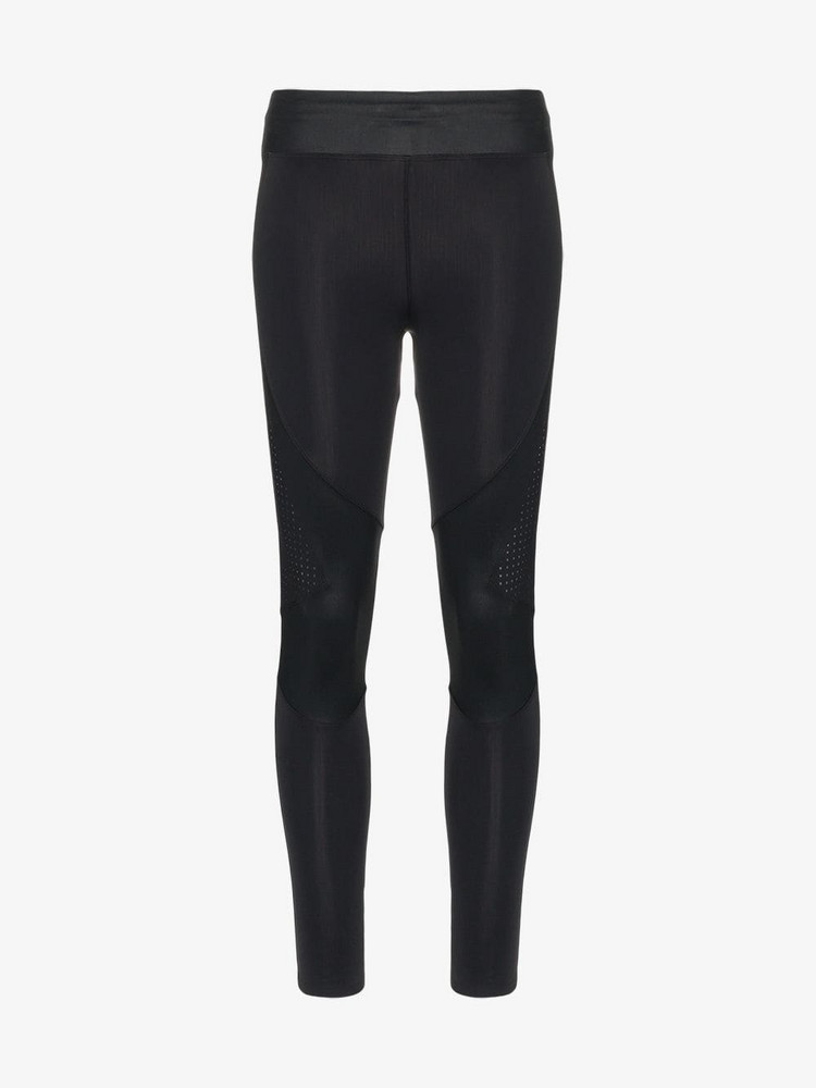 Charli Cohen Laser cut stretch leggings in black