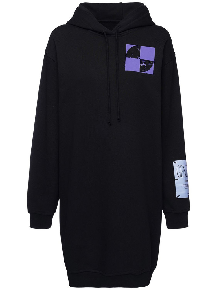 MCQ Genesis Ii Sweatshirt Hoodie Dress in black