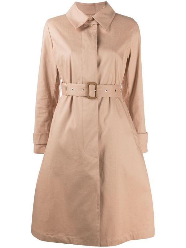 Mackintosh Roslin belted trench coat in neutrals